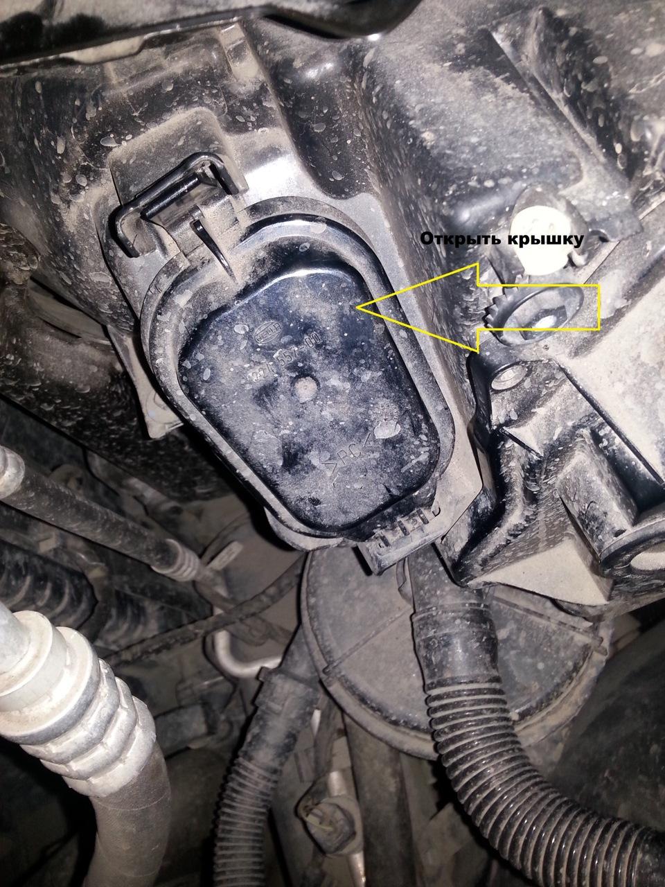 BMW x5 e53 замена лампочки поворота