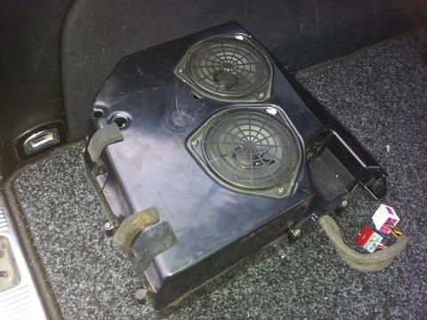 Subwoofer Bose Soundsystem