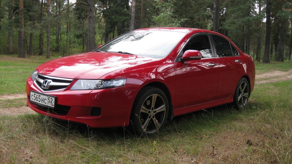 Хонда аккорд красная фото