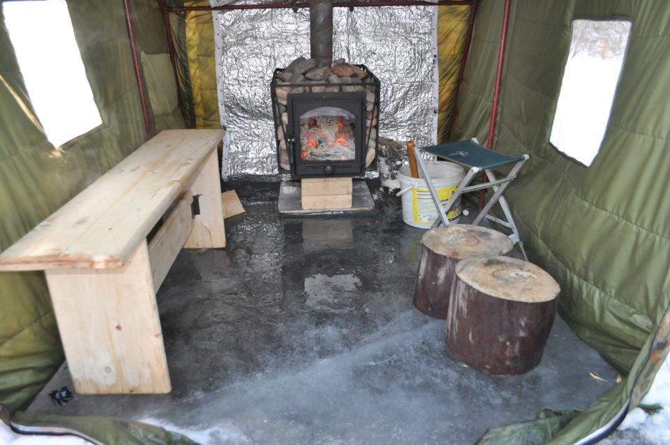 Печь в походную баню своими руками - Urbiznes.ru