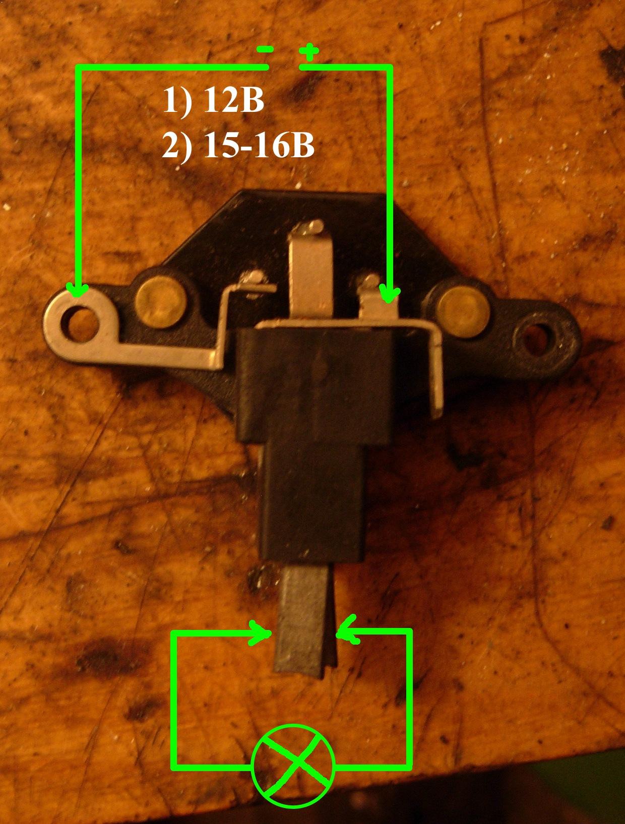 схема ваз 2112 подключение генератора катэк