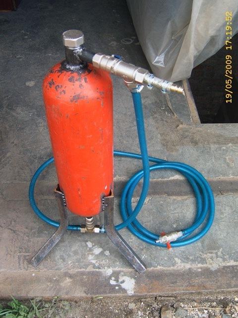 Самогонный аппарат из огнетушителя самогонный аппарат воздушного охлаждения
