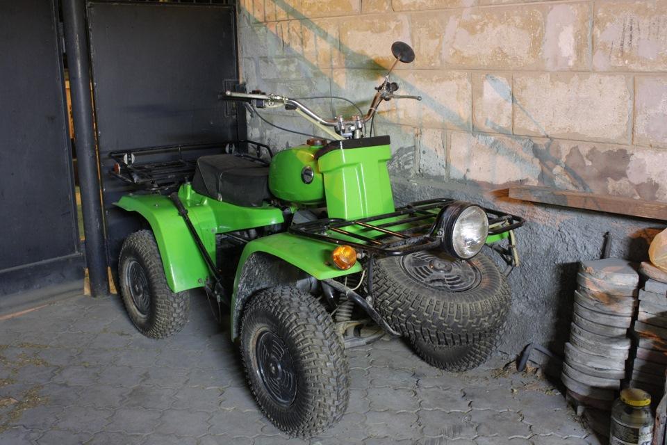 Первый советский квадроцикл «ЗИД-175 4ШП» - необычный мини-вездеход