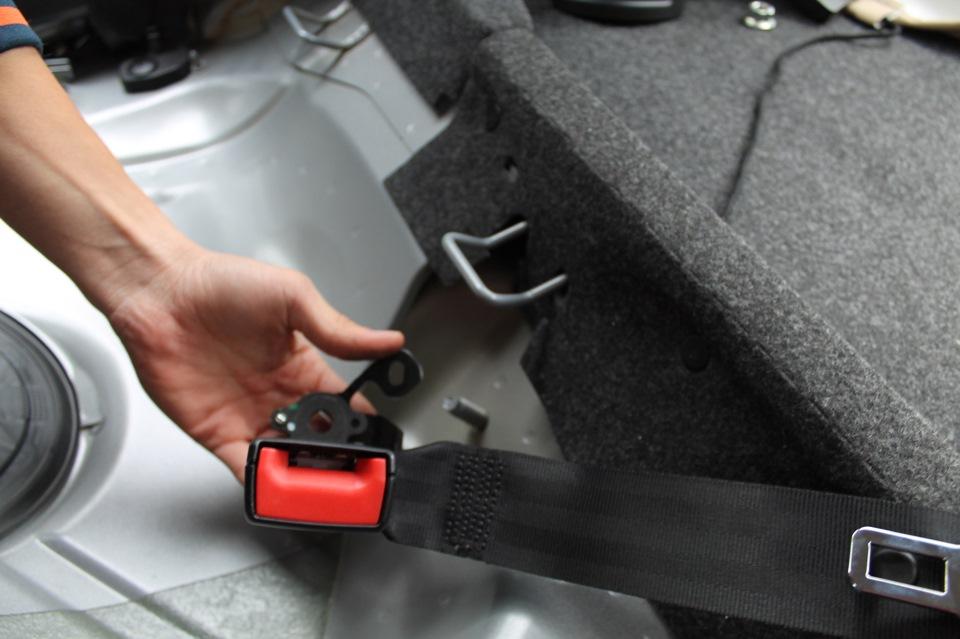 Химчистка ремней безопасности автомобиля своими руками