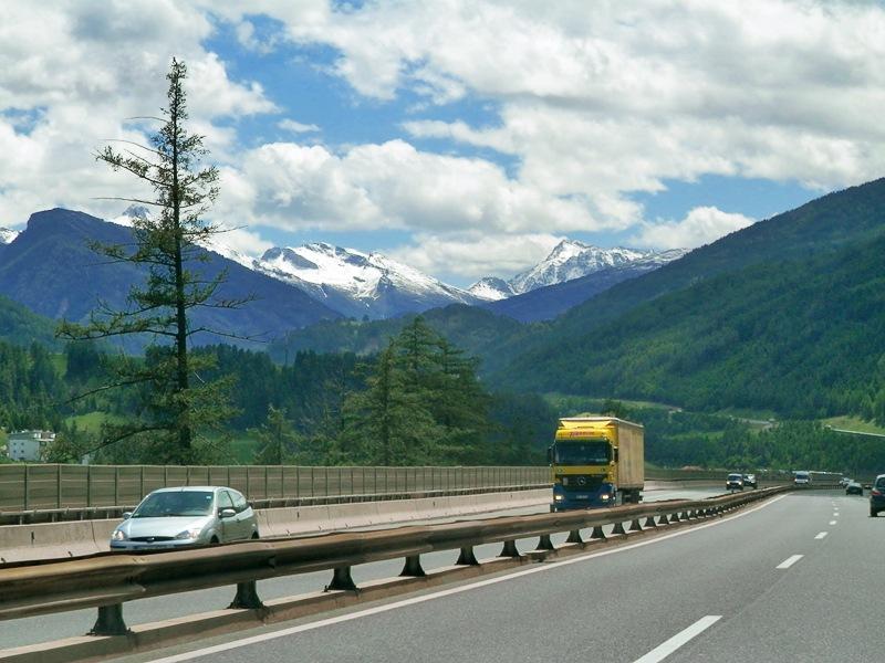 Дорога Инсбрук — Больцано