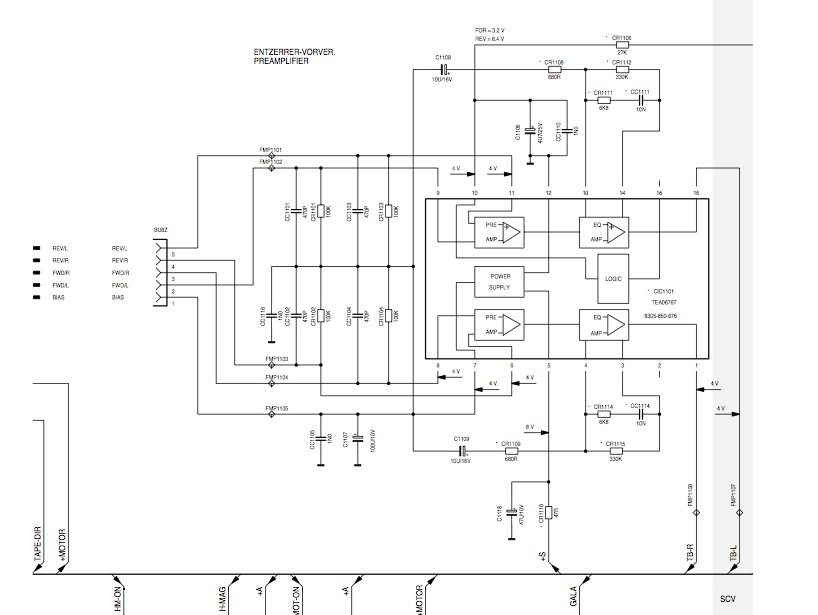 Схема микросхемы на плате