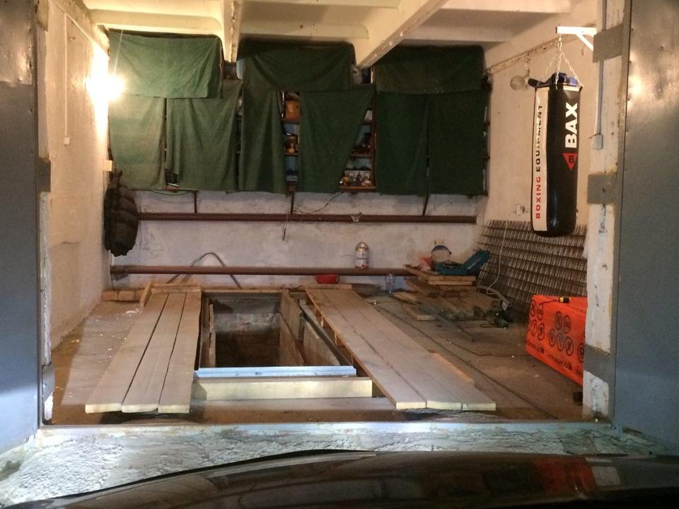 Поднять пол в гараже