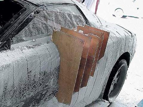 Кузов автомобиля из стекловолокна своими руками