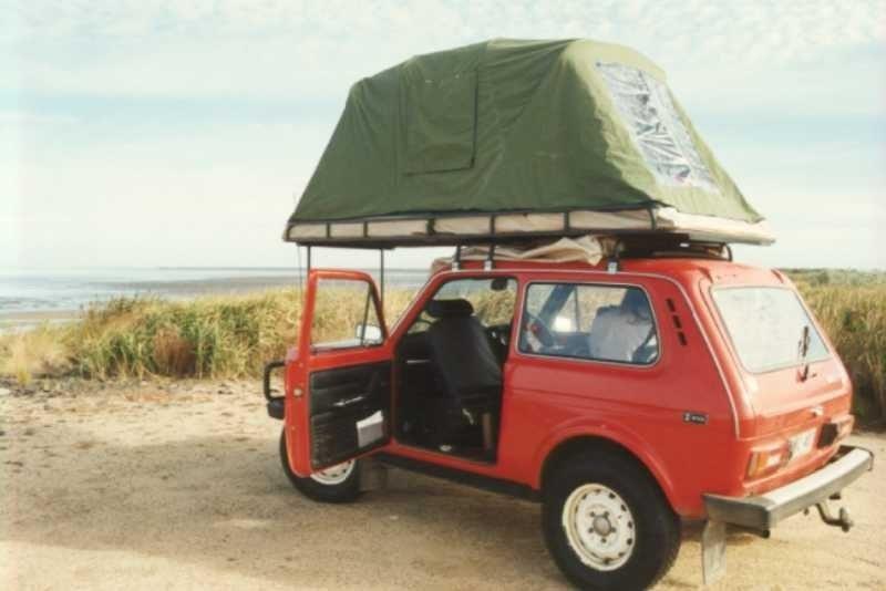 Палатка на машину своими руками