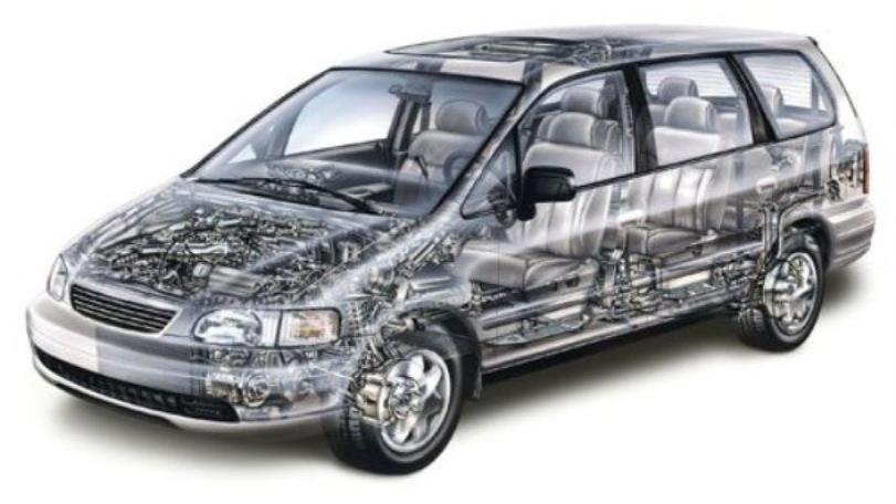 Honda Odyssey Shuttle БУРАН