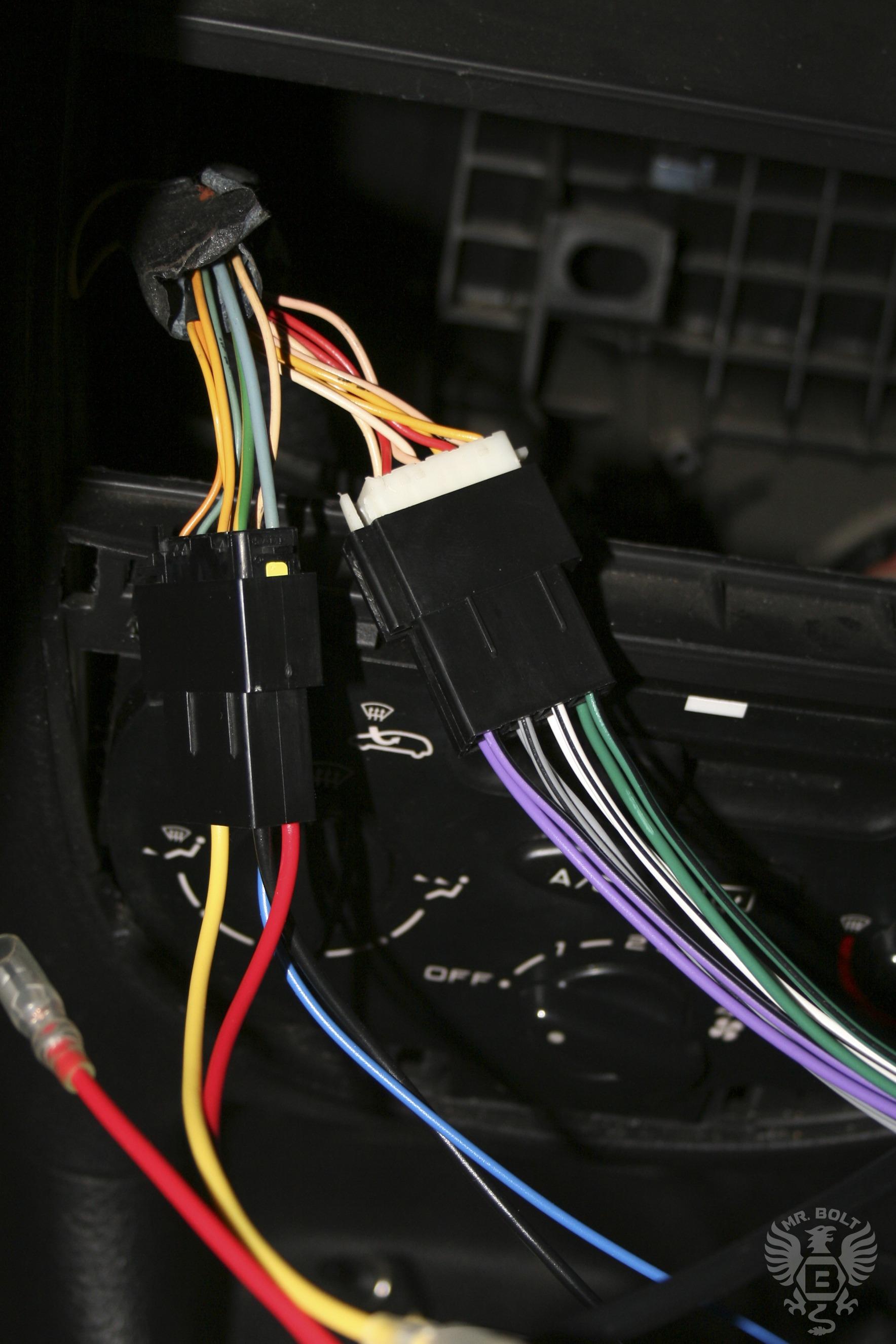 подключение магнитолы к проводам жигули схема