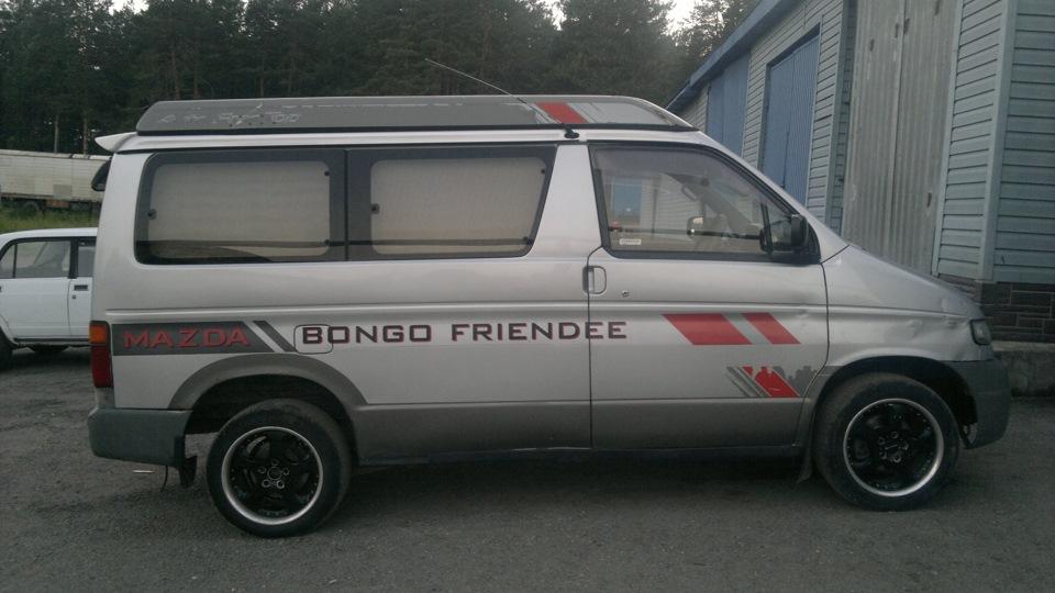 крыша с палаткой mazda bongo friendee