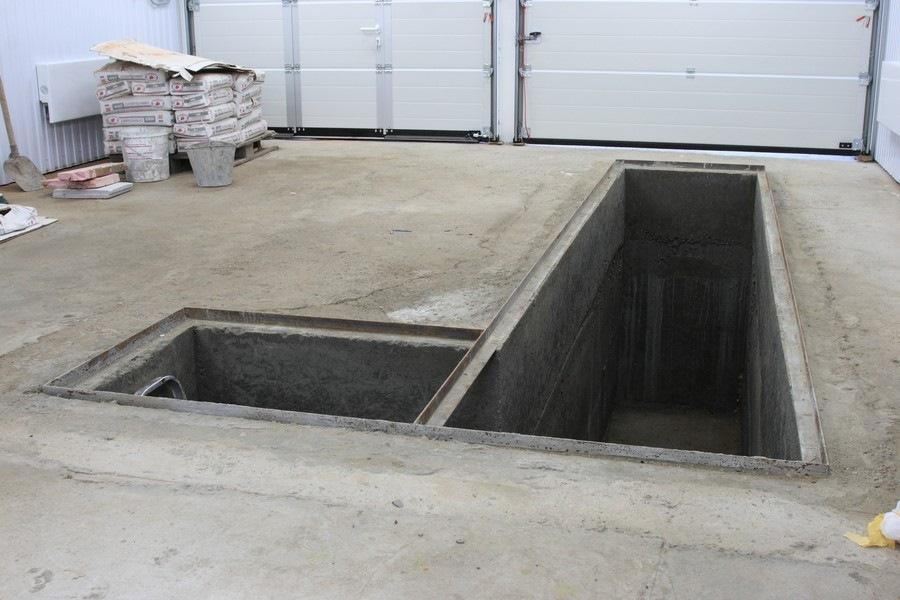 Смотровая яма в гараже своими руками размеры