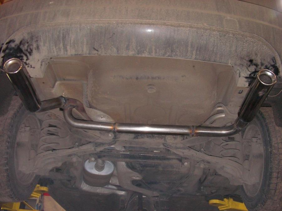Двойной выхлоп на форд фокус 2 своими руками