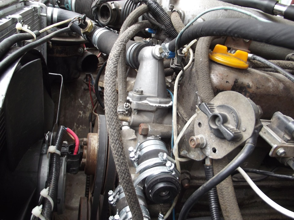 Как сделать инжектор на 402 двигатель