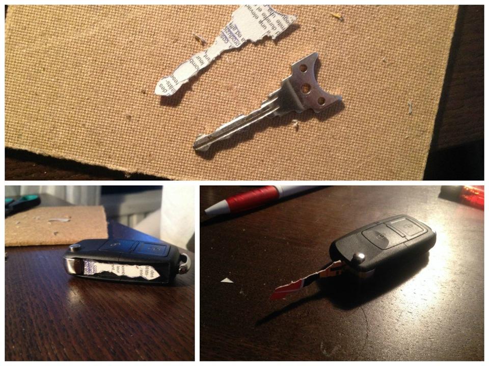 Как сделать выкидной ключ своими руками 433