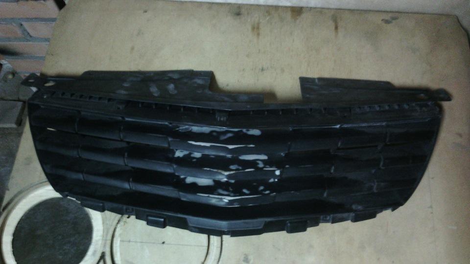 Тюнинг решетки радиатора ниссан альмера классик