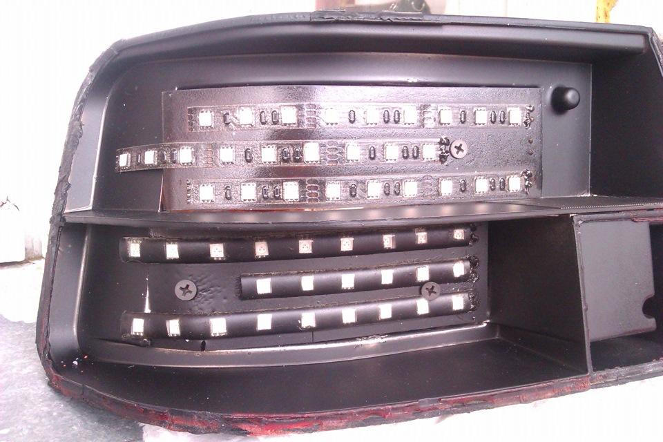 Тюнинг задних фонарей 2112 своими руками