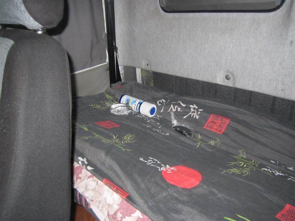 Спальник на газель фото