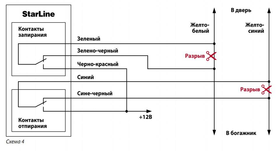 Установка сигнализации на калину (норма и люкс) KGB-FX5 своими руками.  Подробная инструкция.
