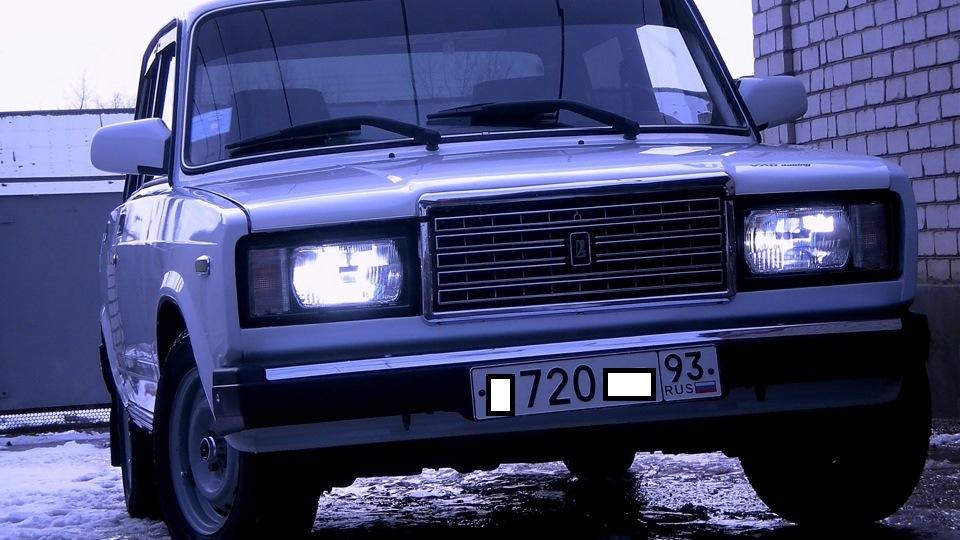 Шумоизоляция авто 2107