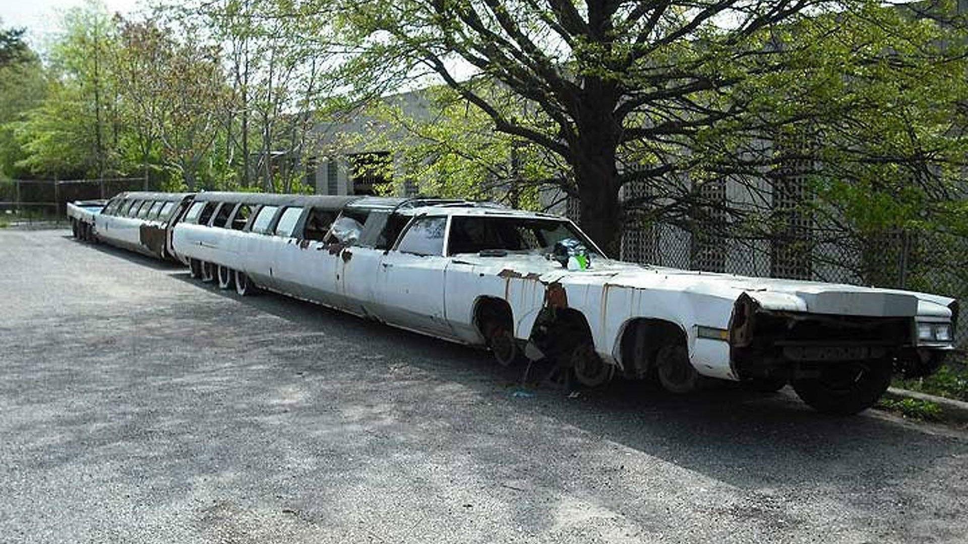 Самый длинный лимузин картинки