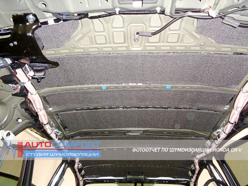 шумоизоляция автомобиля хонда срв вещи, которые