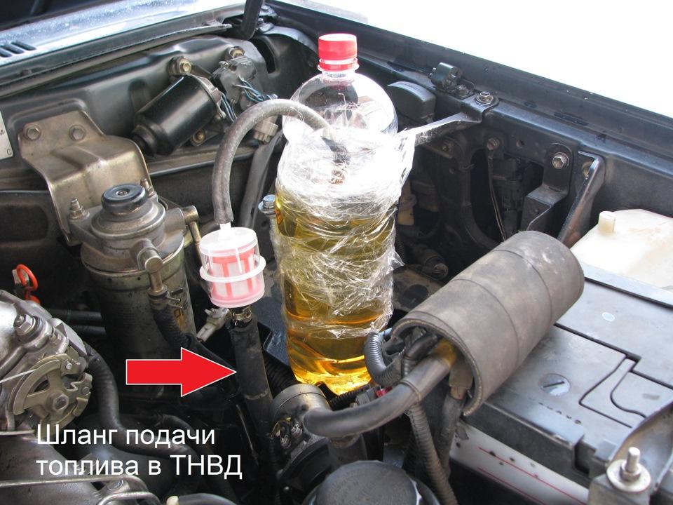 Промывка двигателя дизеля своими руками 46