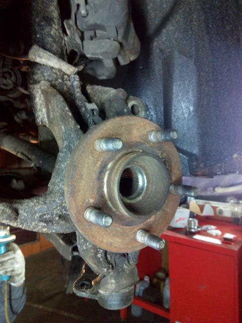 Замена подшипника передней ступицы форд мондео 3