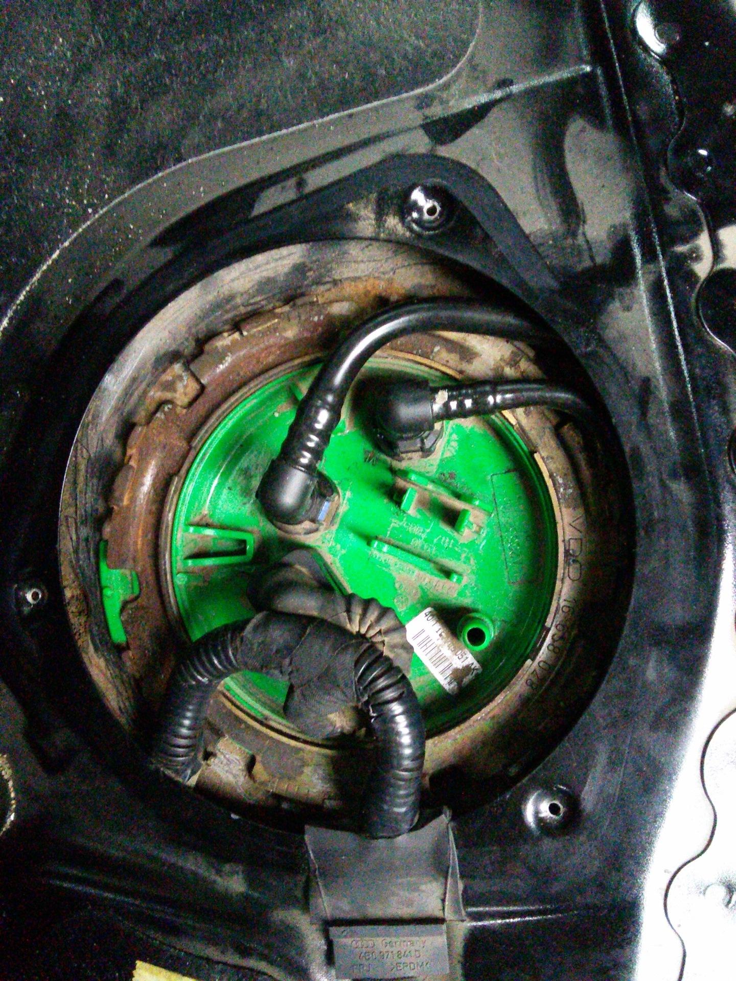 Ошибка P0089 (012555) — Audi A4, 2 0 л , 2005 года на DRIVE2