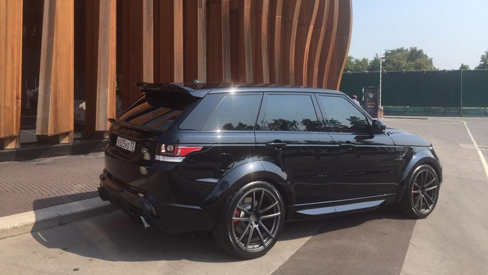 Land Rover Range Rover Sport Renegade Drive2