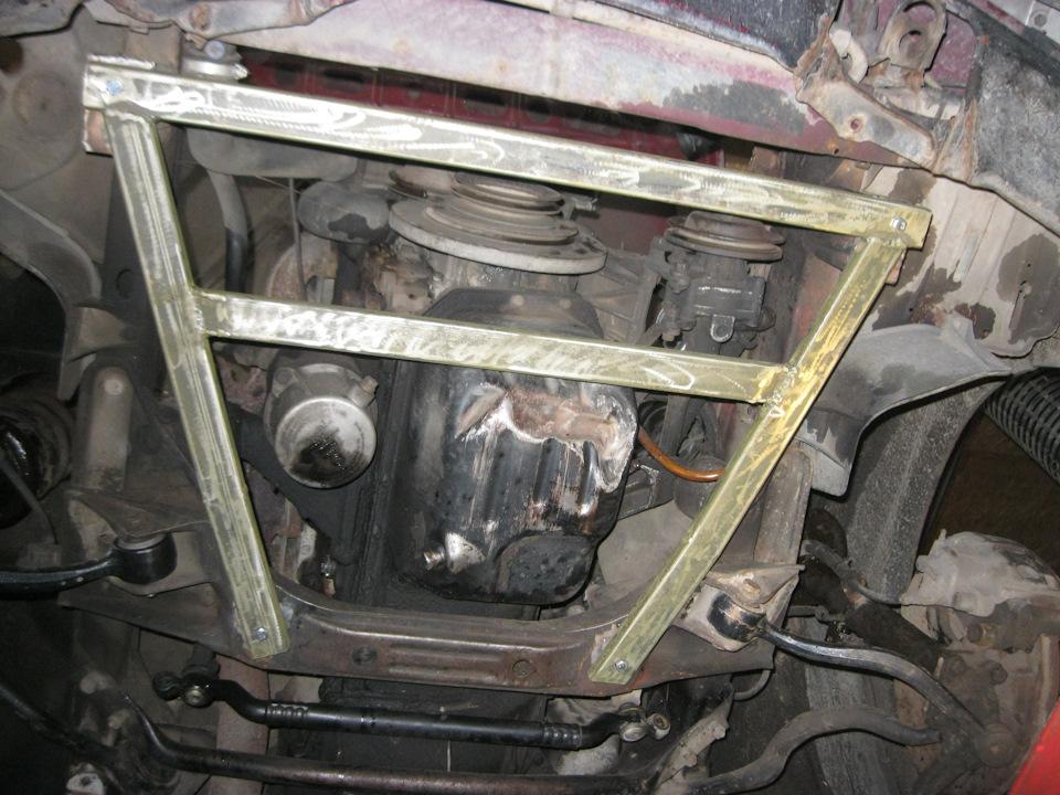 Защита для двигателя своими руками 48