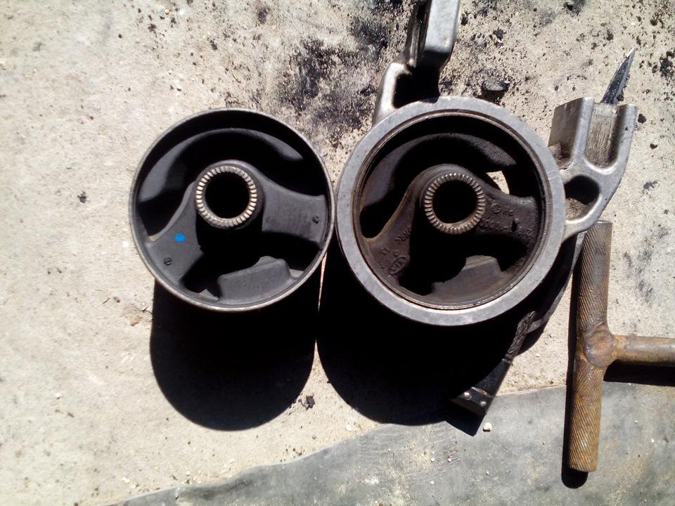 Подушки двигателя киа рио