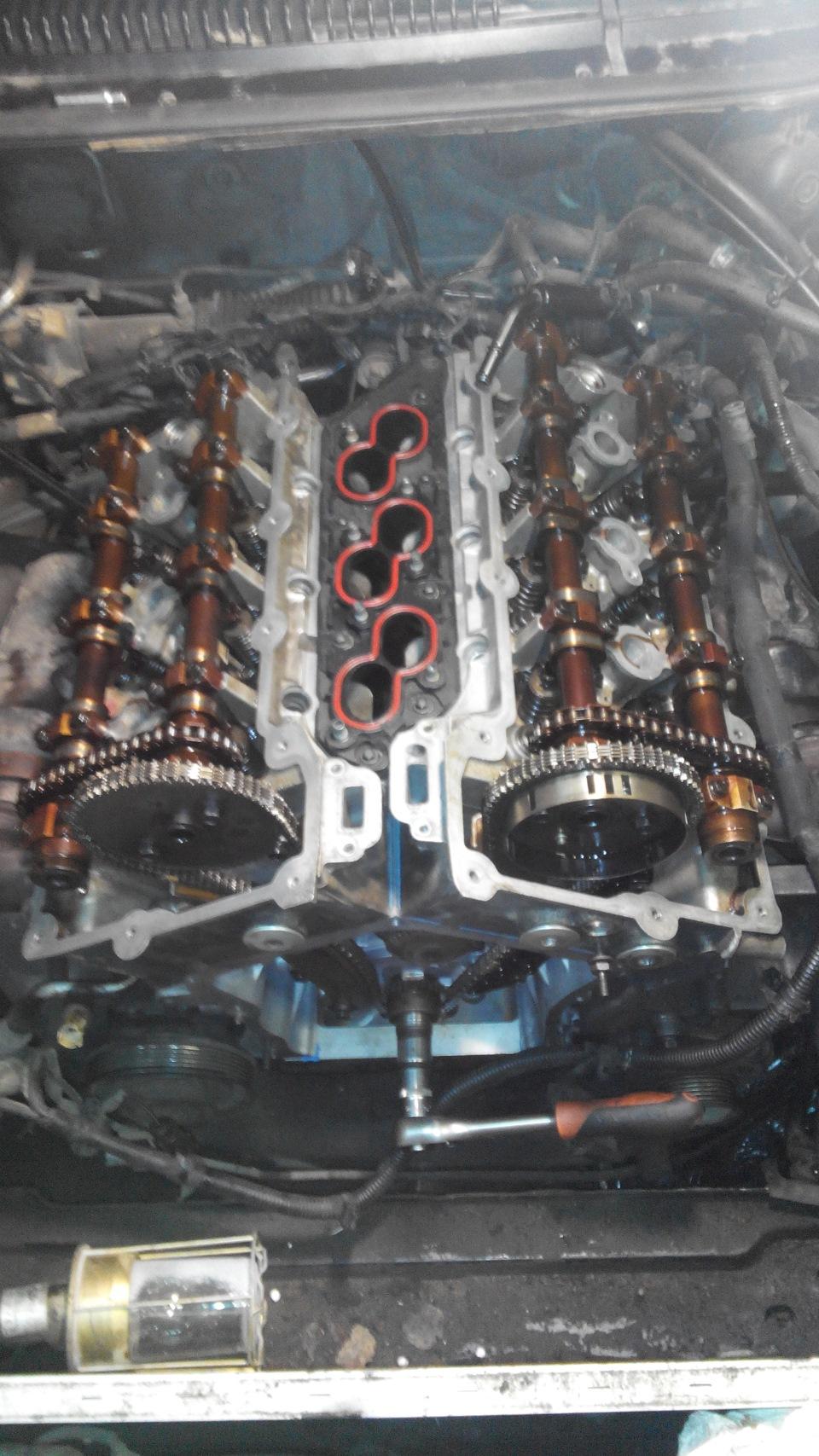 Ремонт двигателя крайслер своими руками