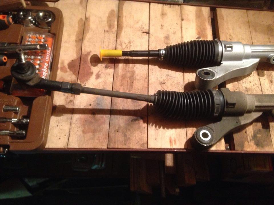 Видео как отремонтировать рулевую рейку форд фокус 2 - На ракете