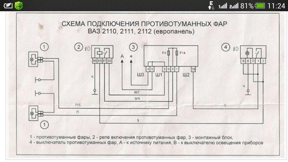 Установка противотуманных фар ваз 2110 своими руками