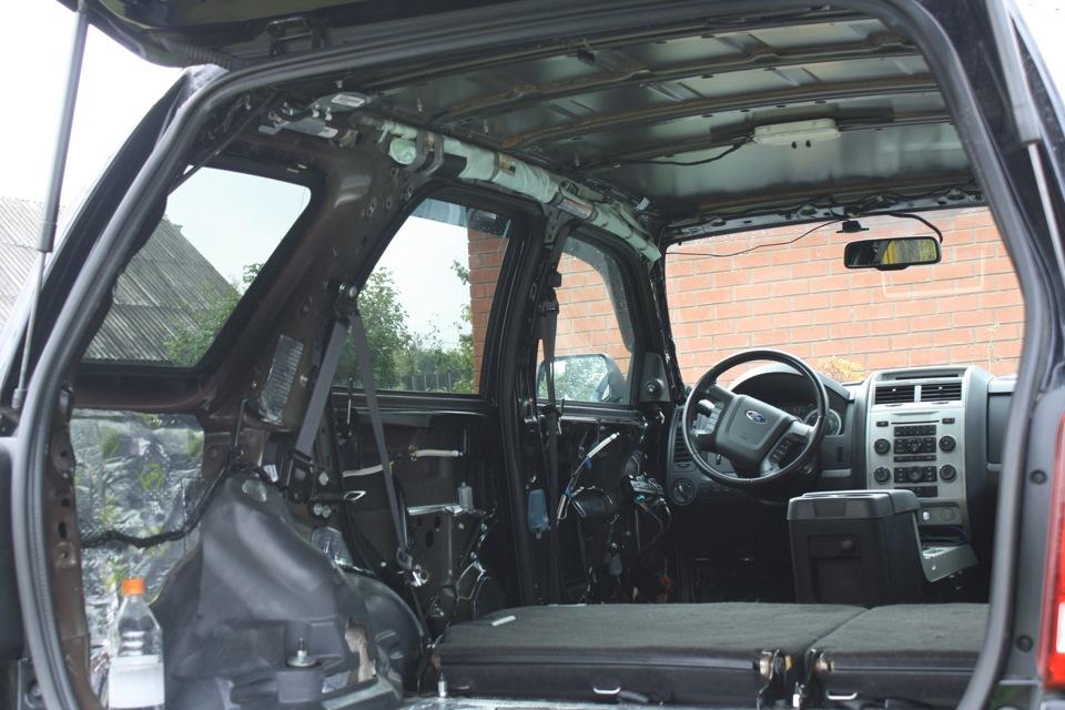 шумоизоляция ford escape