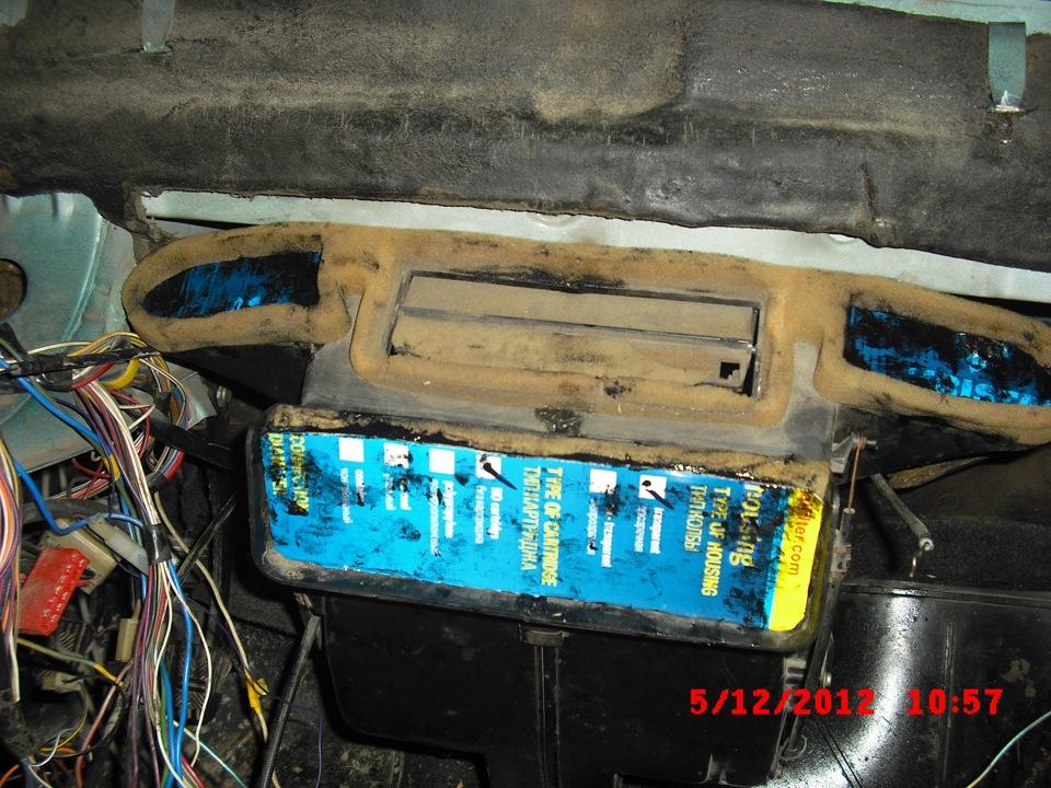 Ремонт ваз 2109 ремонт печки