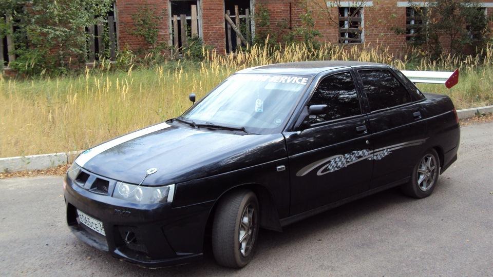 Машина 10 черная фото