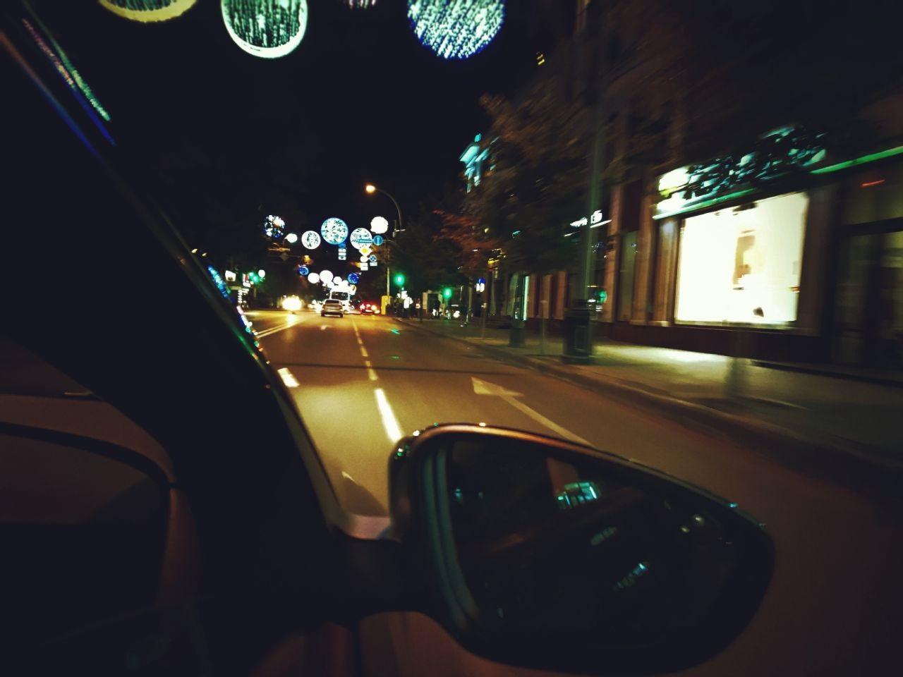 картинки кататься по ночному городу также термины