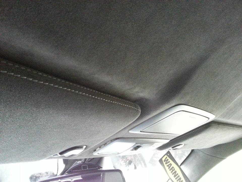 Перетяжка салона автомобиля 529