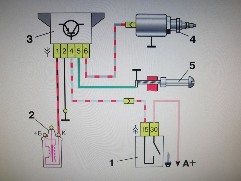 схема подключения проводов на