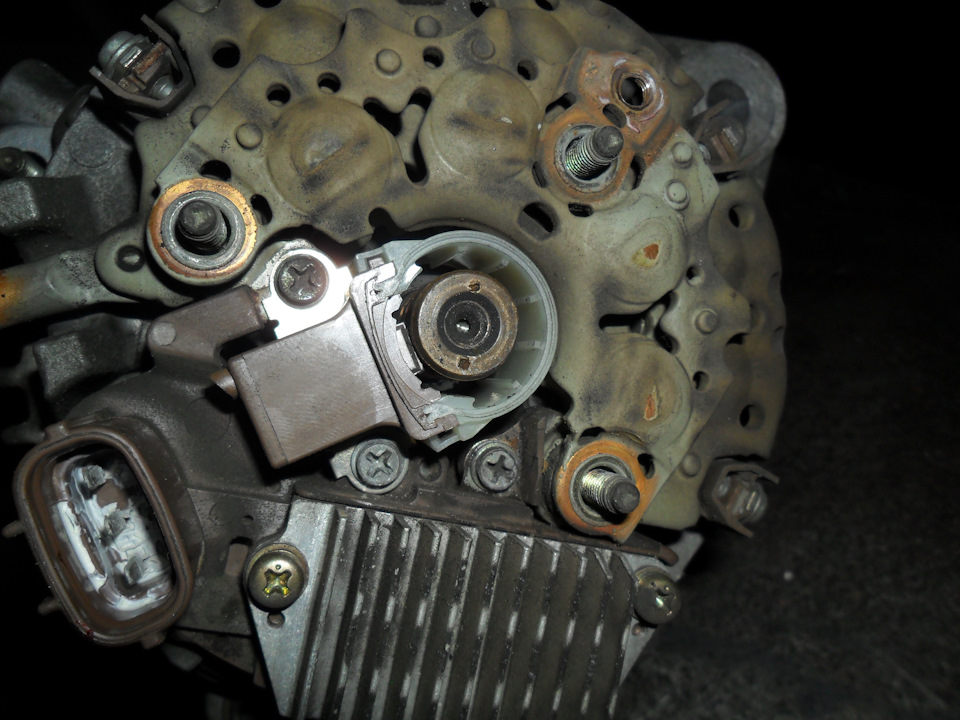 Туарег ремонт генератора