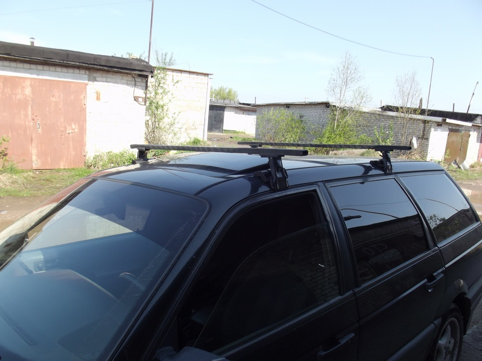 Багажник на крышу пассат б3 универсал своими руками 68