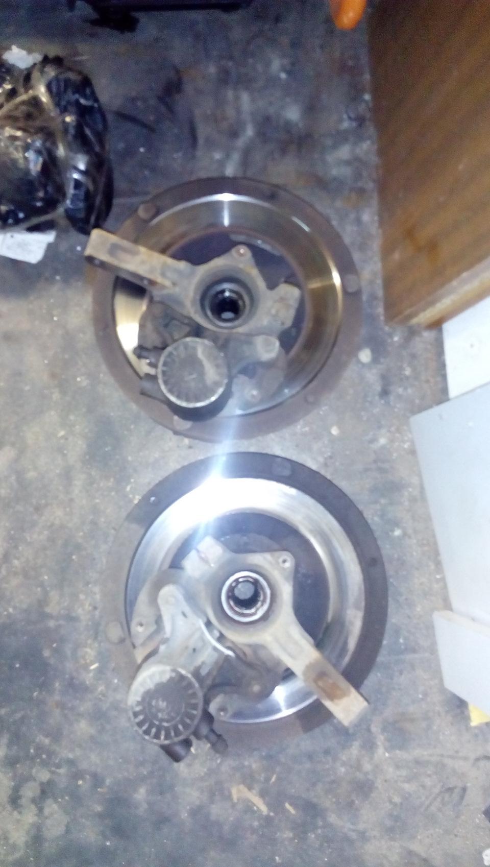 Как сделать тормозные диски на ваз 95