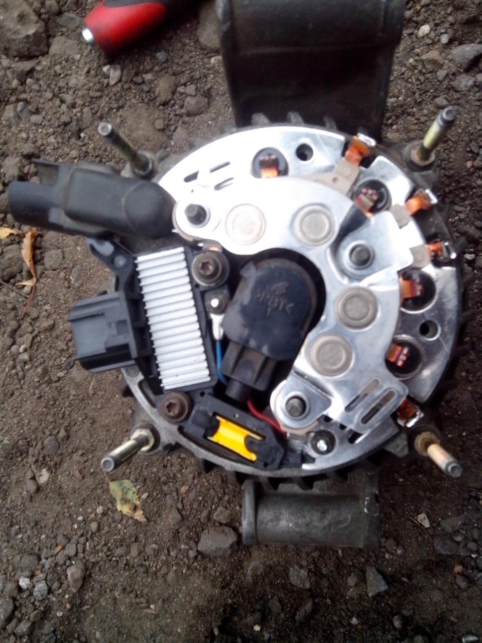 Ремонт генератора на автомобиле своими руками