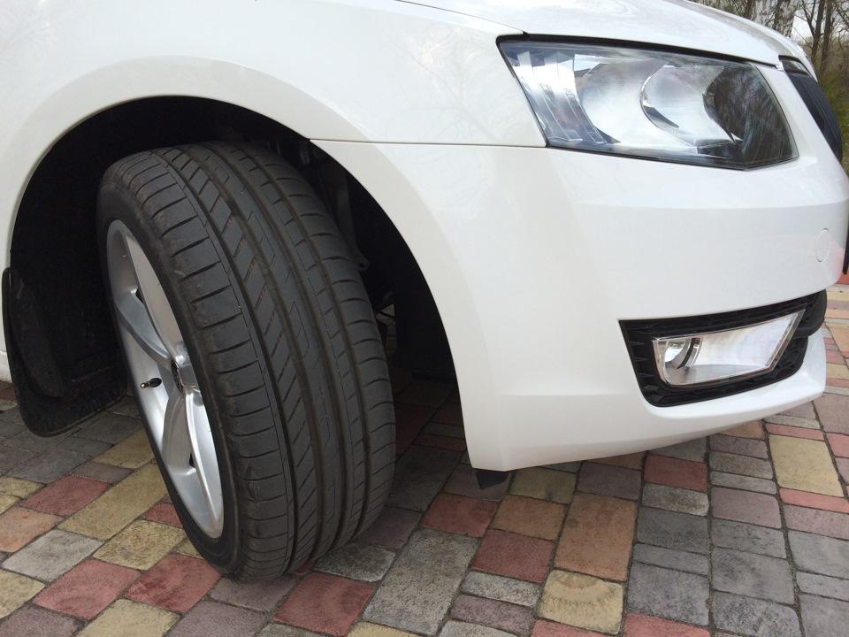 Мой отзыв о шинах Fulda Sport Control 235 45r18