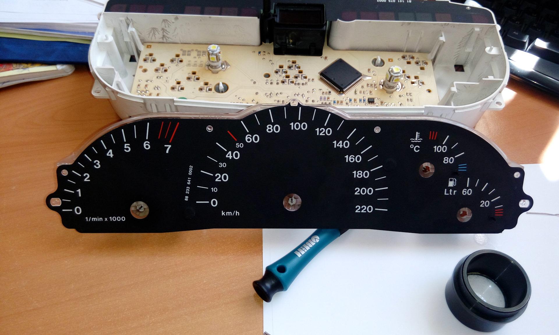 панель приборов опель вектра б 1996