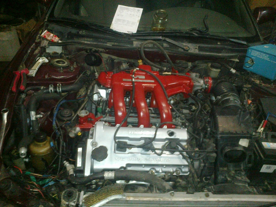 двигатель b6 mazda не заводиться