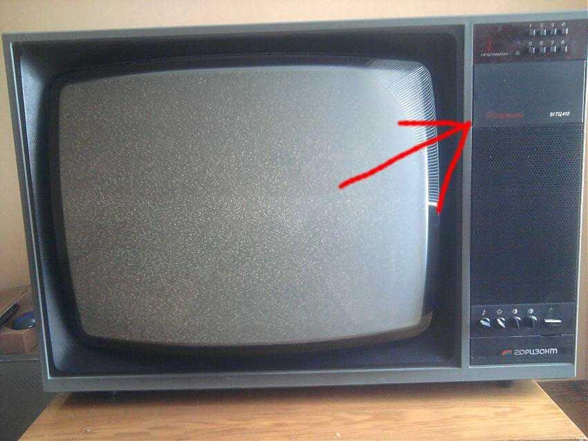 Телевизор горизонт фото и модели старые